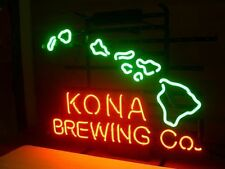 KONA BREWING COMPANY CO HAWAI ISLAND Beer Bar Real Neon Light Sign FREE SHIPING