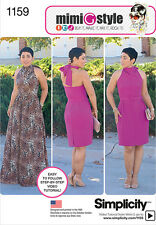 Simplicity pattern - 1159 Misses Dresses. Mimi G Style Collection