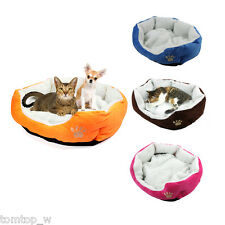 Luxury Warm Cozy Soft Practical Pet Puppy Dog Cat Fleece Cotton Mat Nest Bed