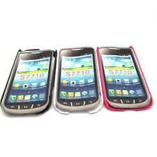 3 Colors Hard Rubber Case Back Cover + Film For Samsung Galaxy Xcover 2 S7710