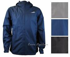 Avalanche Mens Linear Hooded Rain Jacket, Weather Shield Waterproof & Breathable