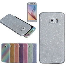 Bling Glitter Hard Back Film Case Cover for Samsung Galaxy S6 G9200 A+
