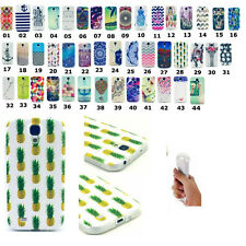 Cute Pattern Soft TPU Silicon Cover Back Case Cover For Samsung Galaxy Phones
