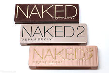 URBAN DECAY NAKED PALETTE SHADES 1 2 AND 3 - BRAND NEW