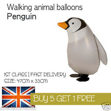 PENGUIN WALKING PET BALLOON ANIMAL AIRWALKER BIRTHDAY KIDS FARM FUN