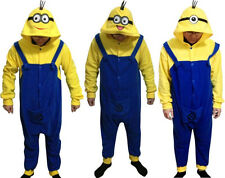 Despicable Me Minion Onesies Minions Onesie Cosplay Costume Halloween Pajamas