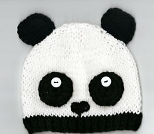 Valego Sales Handmade Knitting Baby Infant Toddler Child ~ PANDA HAT Beanie #002