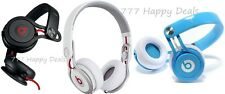 NEW Beats by Dre Mixr On-Ear Headphones - Blue or White or Black