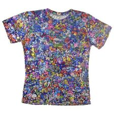 Pokemon Collage 3D Women Men multicolor Tops T-shirt tee