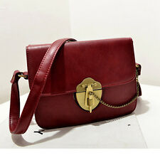 British Style Tote Handbag Crossbody Bag Briefcase Womensmens Vintage Shoulder B