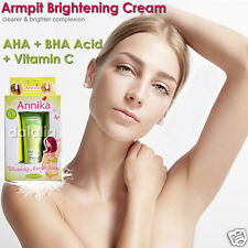 ARMPIT WHITENING CREAM Lightening Fade Dark Underarm Kojic Acid AHA Vitamin C