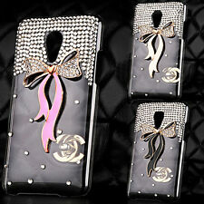 3D Bling Crystal Rhinestone Diamond Back Case Cover For Various Nokia Cell phone