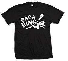 Bada Bing T-Shirt The Sopronos Shirt HBO TV Mob Stripper