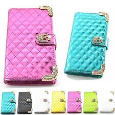 Rhinestone Case Flip Wallet Cover Glitter Bling Skin Shell for Cell Phone K923