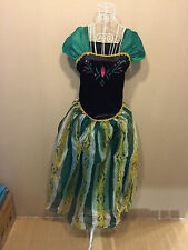 Princess Queen ANNA ELSA Style Cosplay Costume Halloween Party Fancy Dress Adult