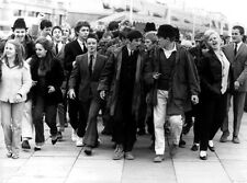 QUADROPHENIA  MODS SCOOTERS THE WHO 1979 FILM B&W PHOTO  A3 POSTER RE-PRINT