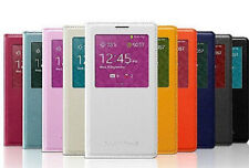 LUXURY S-VIEW Window FLIP LEATHER Case Cover for SAMSUNG GALAXY NOTE 3 III N9000