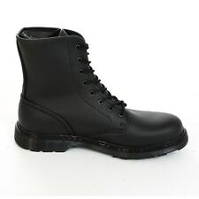 Boots & Braces - easy 8-hole Vegetarian Black Boots Rangers Black