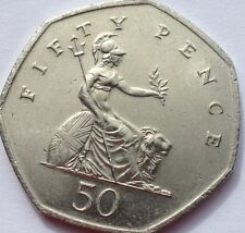 50 Fifty Pence 50p Coin Dates 1980 To 2014 Including Rare 2008 Lion Reverse