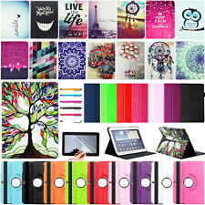 Multi Pattern PU Leather Stand Case Cover For Samsung Galaxy Tab 3 7.0 8.0 10.1