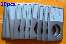 10pcs Front Faceplate Housing Cove for iPod 6/7th Gen Classic(Silver/Black/Gray)