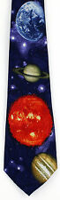 NEW! Planets Solar System Outer Space Science Teacher Fun Novelty Necktie  919