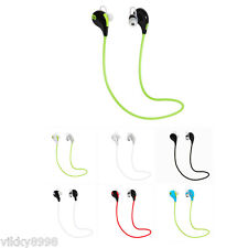 Wireless Bluetooth Headset Sport Stereo Earphone Headphone for Phone Samsung LG
