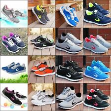 Ladies Mens Shoes Sports Gym Jogging Running Casual Mens Trainers Size 3.5-9