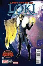 LOKI AGENT OF ASGARD #14 Reg. Cover  05/20/2015 sold out!!