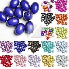 Acrylic Oval Miracle Beads Bracelet Necklace Jewelry Wholesale 3D Illusion
