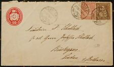 SWITZERLAND 1879 MAILED COVER TO GERMANY