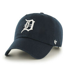 Detroit Tigers MLB 47 Brand NAVY Home Clean Up Adjustable Baseball Hat Cap Lid