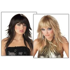 Feathered & Flirty Costume Wig Womens Sexy Adult Halloween Accessory