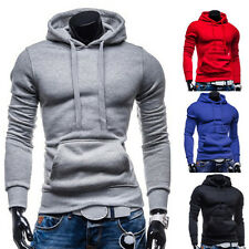 Stylish Men Slim Fit Hooded Coat Jacket Tracksuit Sweatshirt Hoodies Outwear Top