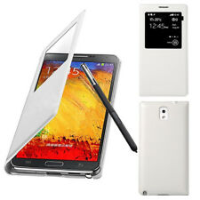 S-View Flip Leather IC Chip Smart Case Sleep Wake Cover for Samsung Galaxy Note3