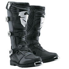 THOR Ratchet Motocross Boots (Black) Choose Size