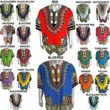 Dashiki African Festival Hippie Poncho Mexican Shirt Men Caftan T-Shirt Women