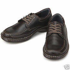 Jeus Brown Italian Style Loafers Mens Shoes All Size