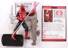 2009 GI Joe ROC Rise Of Cobra CRIMSON NEO-VIPER Royal Guard w/ FC Loose Complete