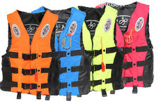 New Arrial Adult Life Jacket Fully Enclosed Coast Guard PFD Ski Vest Size L-XXXL