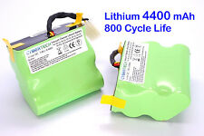 2 X 4400mAh Replacement Lithium Li-Ion SUPER LONG-LIFE Battery for Neato XV Pro