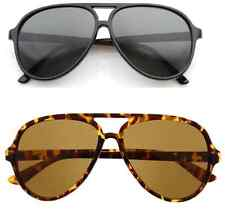 Classic Vintage Inspired Classic Tear Drop Plastic Aviator Protective Sunglasses
