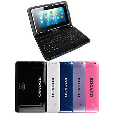 "Kocaso Quad Core Dual Camera 9"" Tablet PC Android 4.4 1.2 GHz +Keyboard Case"