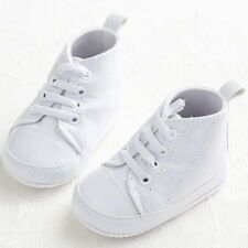 3 Sizes Baby Boy Girl Crib lace Shoes Sneaker Infant Newborn 0-18 Months #BS67