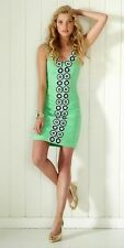 New Lilly Pulitzer Trudy Shift Bow Dress, Go go green, size 10, 14