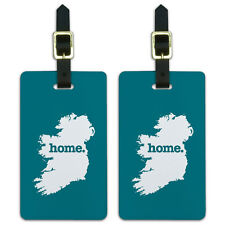 Ireland Home Country Luggage Suitcase ID Tags Set of 2
