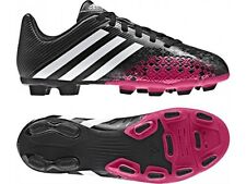 New Adidas Boys Predito LZ Black Junior Boys Football Moulded Stud Soccer Boots