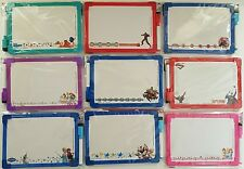 DRY ERASE WHITEBOARDS FOR KIDS 2 Sided Loop Marker SELECT Disney Marvel DC Comic
