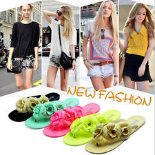 2015 NEW FASHION WOMEN CASUAL SUMMER BEACH FLIP FLOPS FLAT SCANDALS SLIPPERS