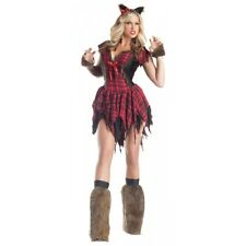 Werewolf Costume Adult Sexy Wolf Female Halloween Fancy Dress